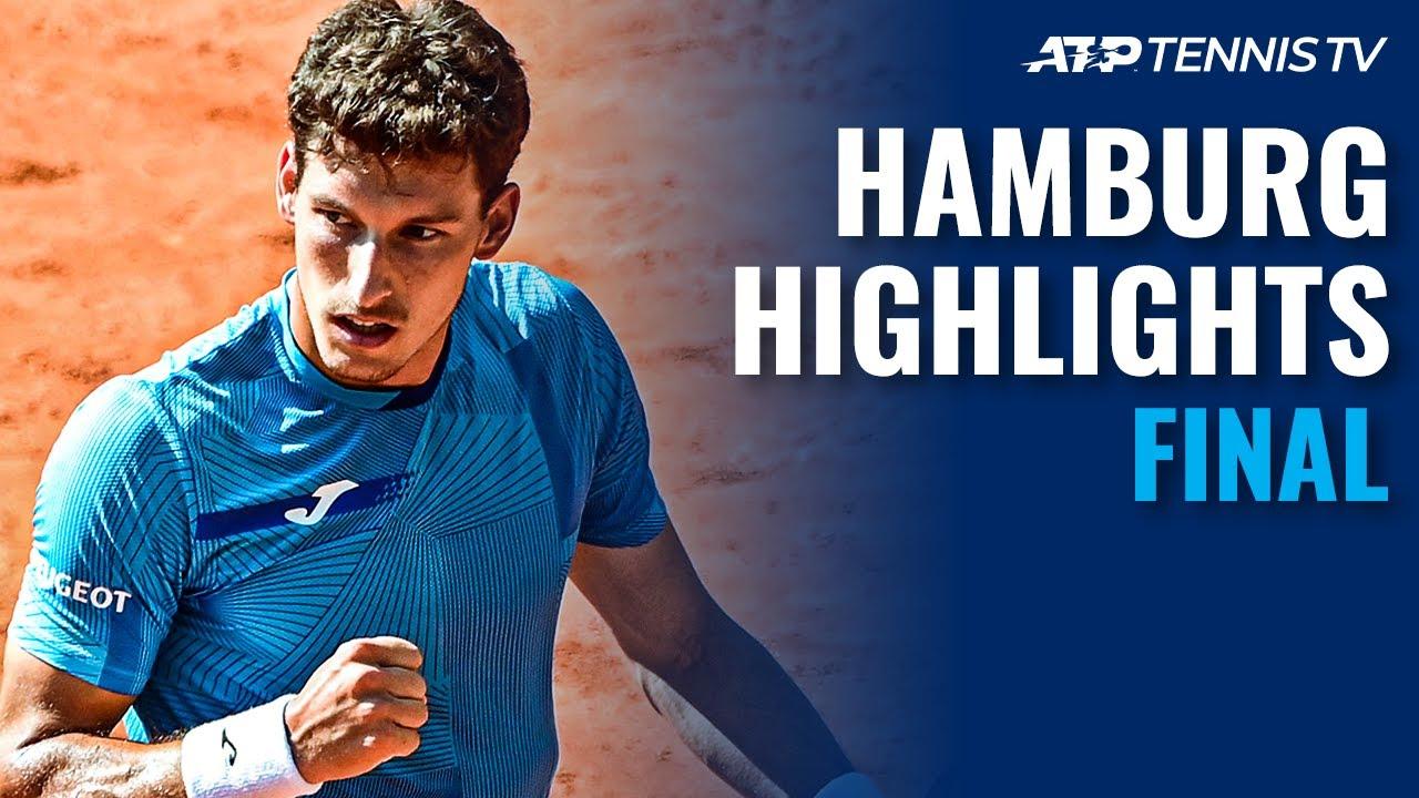 Filip Krajinovic vs Pablo Carreno Busta In The Title Decider | Hamburg 2021 Final Highlights