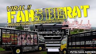 #trucktampan #putraragilkaroseri #canter #myblack #dotstickervideo ini berisikan truck canter ragil kain yang baru saja keluar dari karoseri putra ragilbacks...