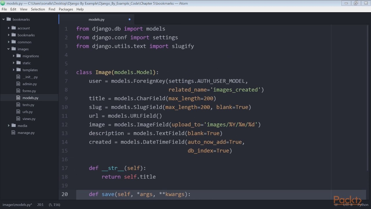 Django by Example : Creating an Image Bookmarking Website | packtpub com
