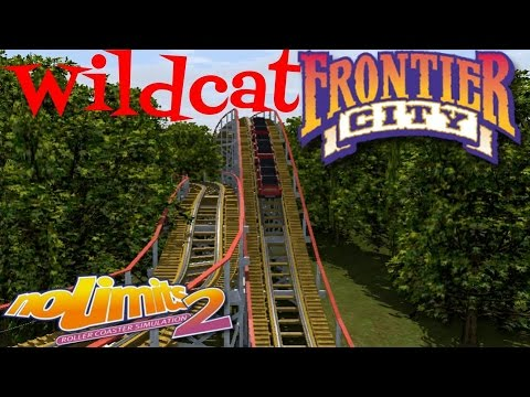 Wildcat, *Re-creation* Frontier City, NoLimits 2