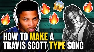 How to Write a Travis Scott Song in 10 mins