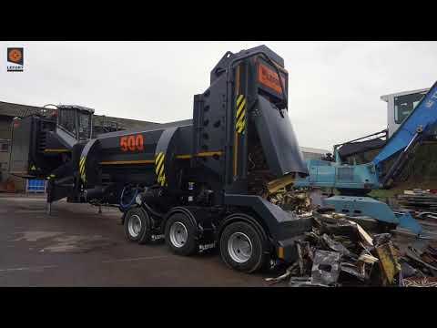 LEFORT scrap metal shear/baler Mobile 500t !