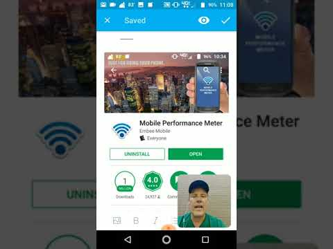 Mobile Performance Meter Android App Review