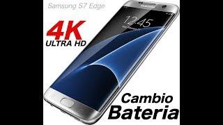 Como cambiar la bateria Samsung S7 Edge -Sin dañar la tapa.