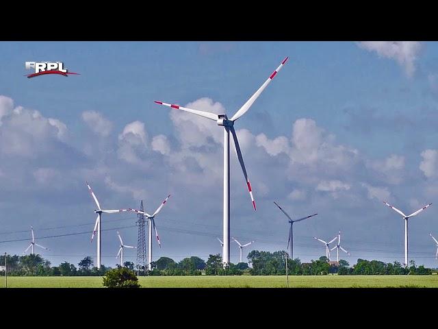 De partij Lijst van der Does voert actie tegen windmolens op land