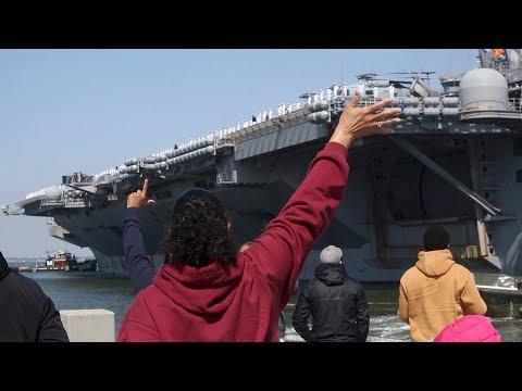 Truman Carrier Strike Group deploys from Norfolk