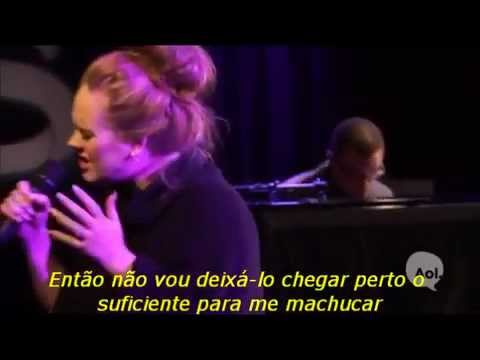 Adele - Turning Tables - Tradução (Live AOL Sessions)