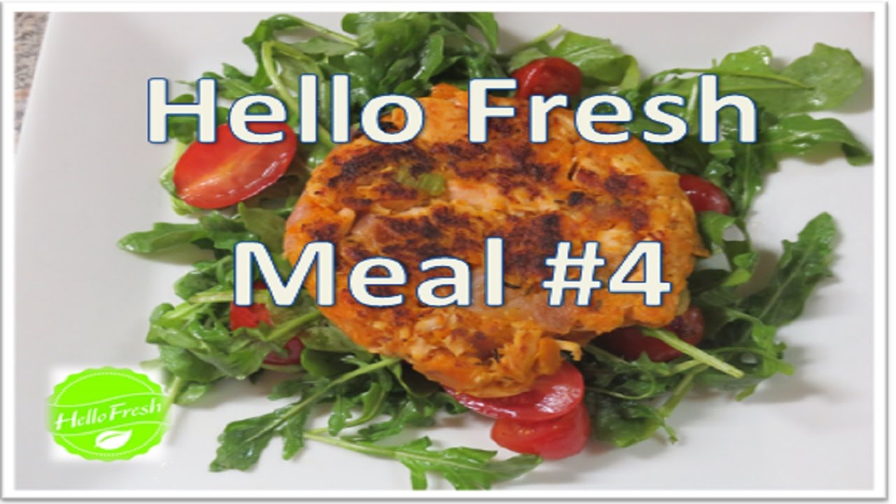 Hello Fresh Meal #4 -Old Bay Spiced Salmon & Sweet Potato ...