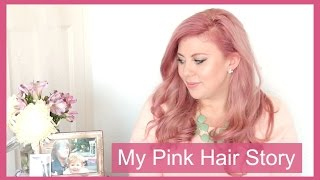 My Pink Hair Story || Sprinkle of Glitter(Pink hair for cancer research UK. Previous Video - http://bit.ly/1KFvi6a Just Giving Page - https://www.justgiving.com/SprinkleOfGlitter Shop my fashion line!, 2015-10-05T16:59:42.000Z)