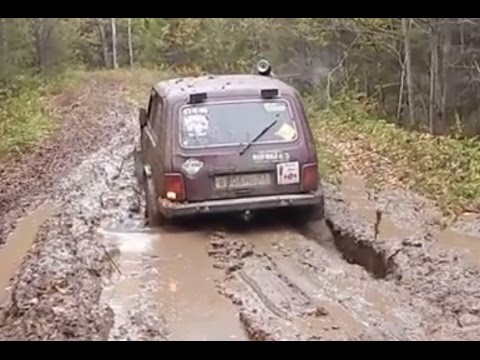 Lada Niva Off road 4x4 Extreme Compilation