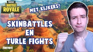 SKINBATTLES ET TORTUE SE BAT AVEC LES TÉLÉSPECTATEURS! -Fortnite Battle Royale #294 (anglais en direct)