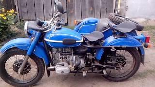 Капсула времени теперь у нас!)Новый мотоцикл Урал 1990 г