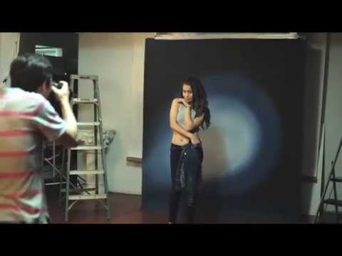 Meagan Heacock's Guam Studio Fashion PhotoShoot BTS