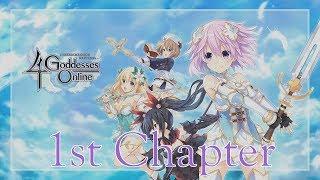 "Cyberdimension Neptunia: 4 Goddesses Online - English Walkthrough Part 1: ""Chapter 1 Complete"" | PS4"