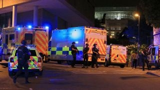 Police  Man who set off concert explosion died in the attack