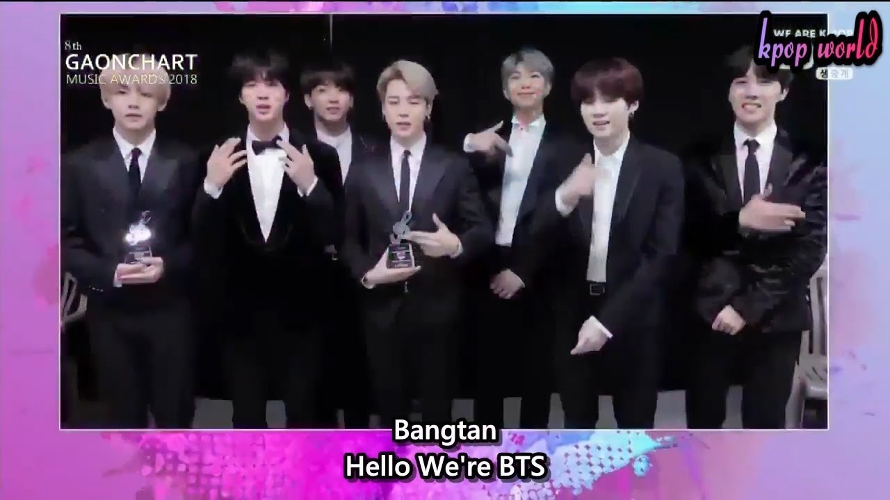 Eng Sub Bts Win All The Best Albumalbum Of The Year At 8th Gaon