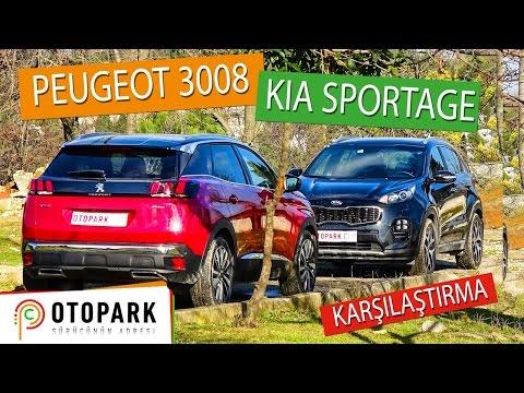 Peugeot 3008 vs Kia Sportage   KARŞILAŞTIRMA