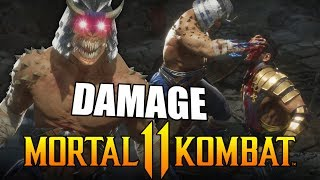 Mortal Kombat 11 - Baraka Damage is INSANE!! Online Beta Matches