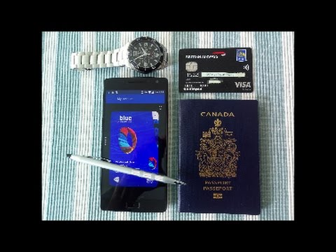 RBC British Airways Visa Infinite Credit Card Unboxing & Rev