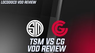 TSM vs CG - The Reverse Sweep Heard Round the World (Tears Shed)