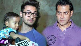 Arpita's Husband Aayush Sharma's BEST Reply On Salman Khan & Sister Arpita's Fight