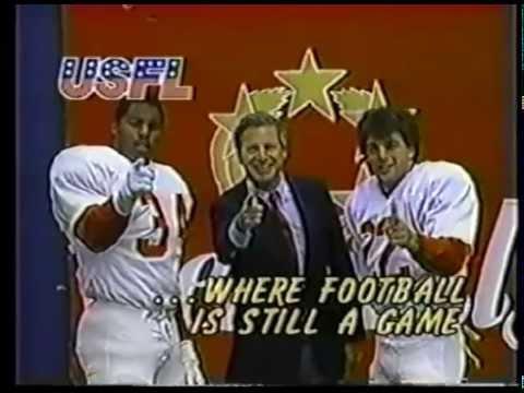 USFL Promo  Herschel Walker, Doug Flutie and Commissioner Harry L Usher