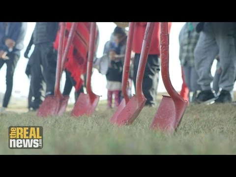 Native Women Bring Shovels to North Dakota Cemetery to Highlight the Destruction of Sacred Sites