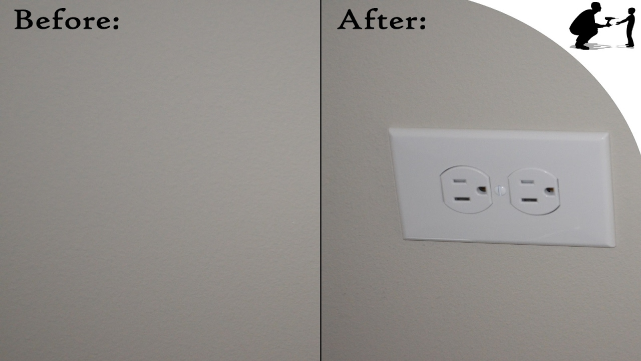 How to Add an After-Works Outlet to Any Ceiling - YouTube