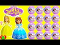 Sofia the First Mini Figures in Surprise Balls