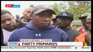 ODM Kibra residents hint at protesting if the Ballot papers and boxes fail to be delivered by 10AM