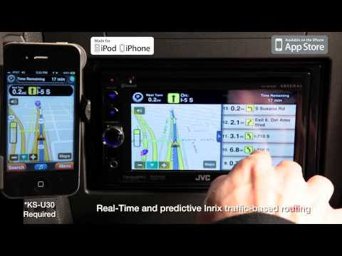 JVC Mobile Entertainment 2012 - Multimedia APP Link - Motion X GPS Drive