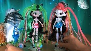 Видео с куклами планета Novi Stars, серия 462, Инопланетянки Нови Старс собираются в гости к Барби