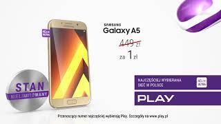 Tomasz Kammel prezentuje wodoodporny Samsung Galaxy A5 | TELEFON TYGODNIA w Play