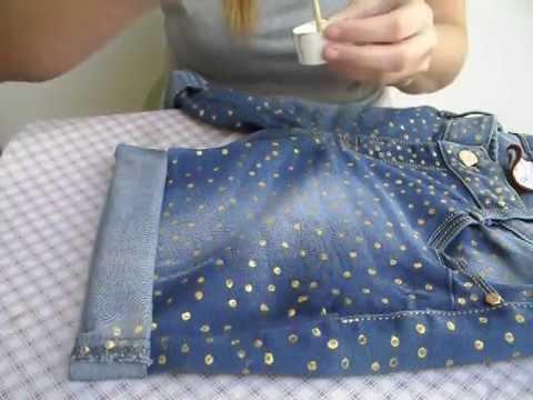 low priced ef753 932cc Come decorare un paio di jeans con il pizzo | Beauty