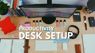 My Productivity Desk Setup - aesthetic & affordable
