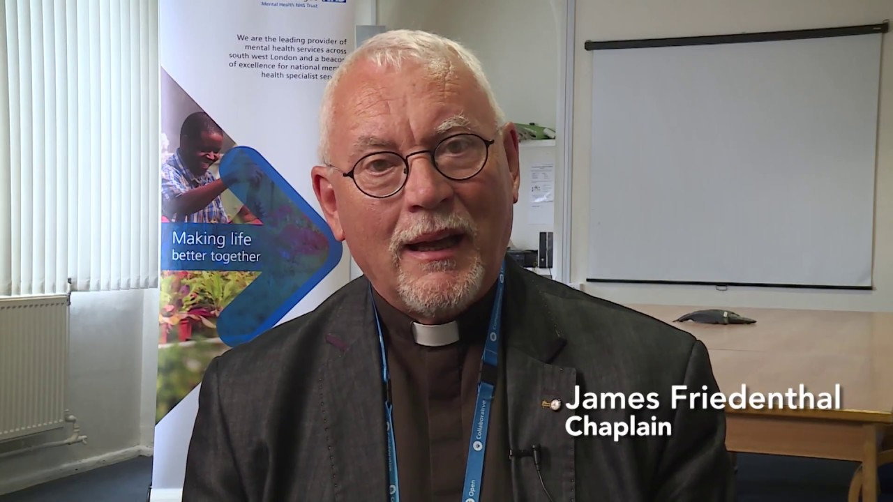 James Friedenthal talking about chaplaincy