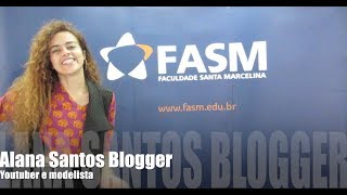Evento VEM PRA SANTA   curso de  Moda  com Alana Santos Blogger
