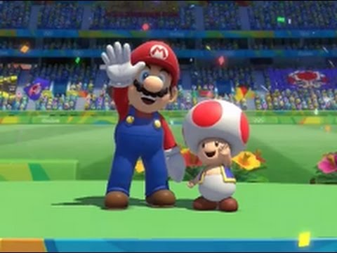 Mario and Sonic at the Rio 2016 Olympic Games (Wii U) - 4x100m Relay #2 (Request)