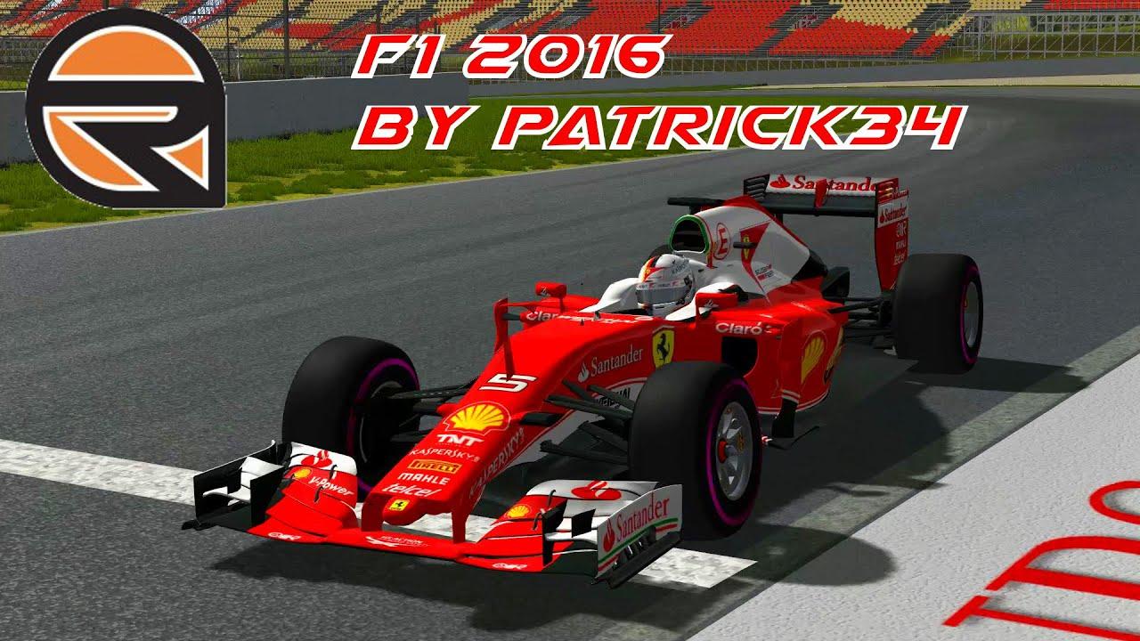 Rfactor f1 2016 скачать