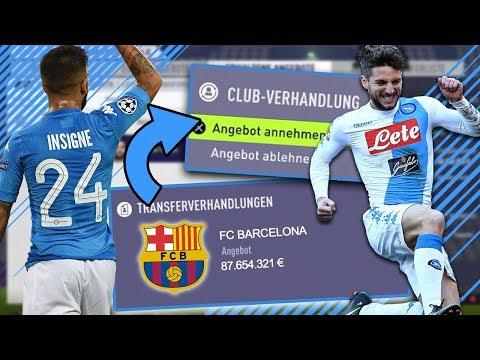 FIFA 18: JEDES TRANSFERANGEBOT ANNEHMEN !! 😱🏆 | SSC NAPOLI ACCEPT ALL TO GLORY KARRIERE