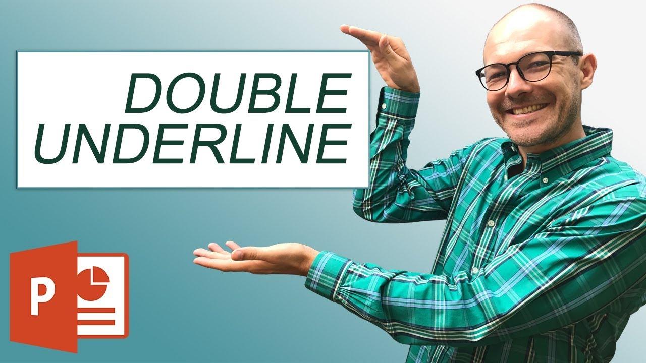 Double Underline Shortcut (3 Programs 1 Shortcut)