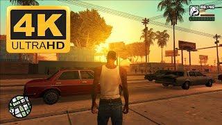 GTA San Andreas ( 2004 ) : Old Games in 4K 2018