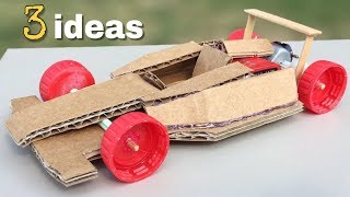 3 Amazing ideas and incredible Homemade Toys