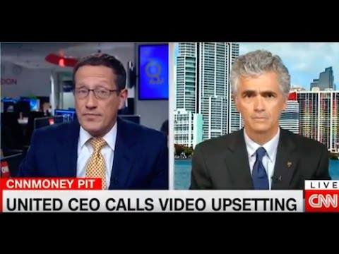 Bruce Turkel on CNN International: United Airlines' PR disaster
