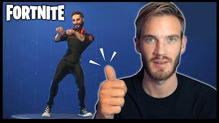 ⍣CONFIRMED⍣ PewDiePie is in Fortnite. - Season 7