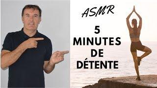 ASMR FRANCAIS  -  5 Minutes de détente -   Avion   Oiseaux   Eau