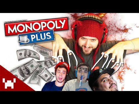 THE SHADOW MONOPOLY! (Monopoly Plus w/ Ze, Chilled, Smarty, & Aphex Part 1)