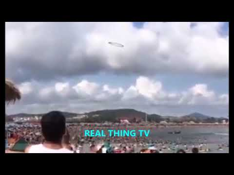 Beachgoers are puzzled by a mysterious object