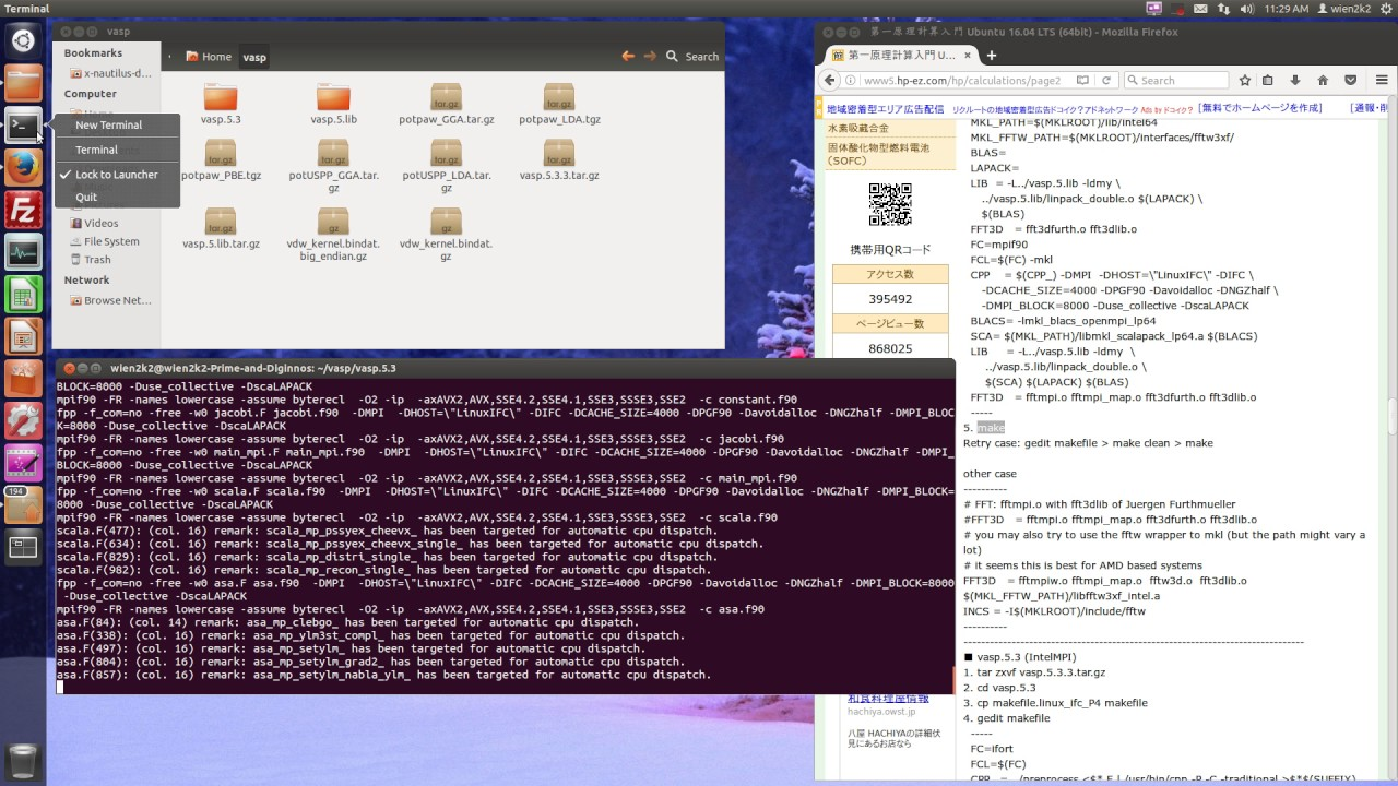 Repeat VASP compilation (intel compiler and OpenMPI) by By student