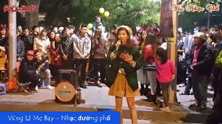 Vùng Lá Me Bay - Xinh gái, hát hay - Nhạc đường phố hay nhất